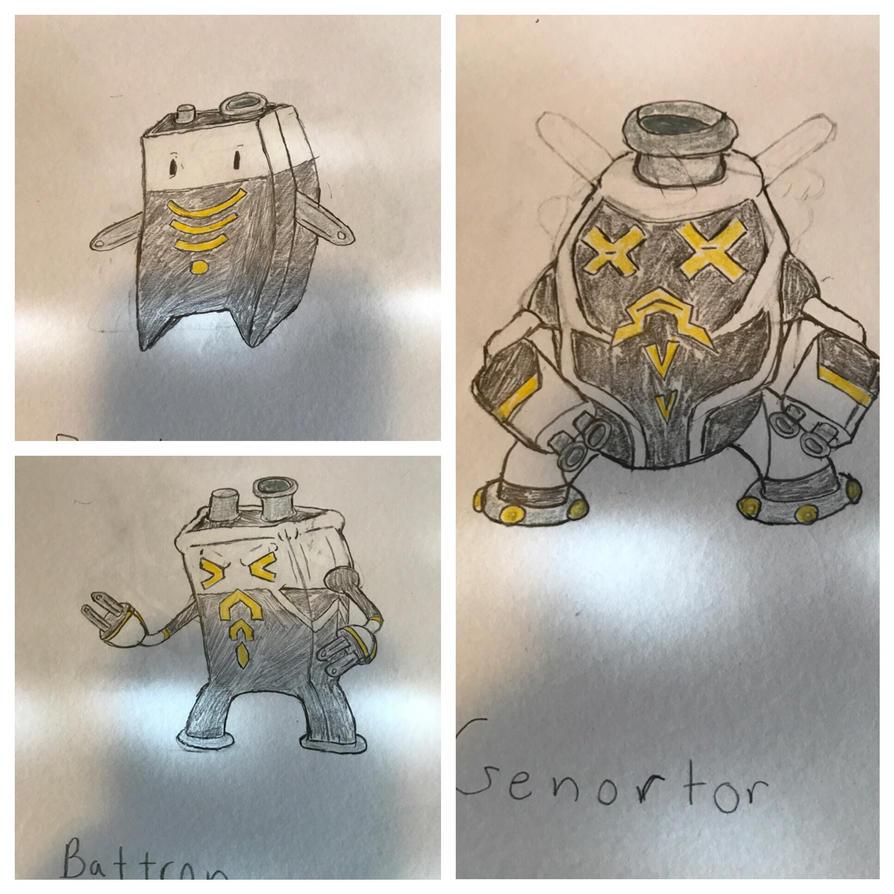 Pokmon electric type concept  by tevman5