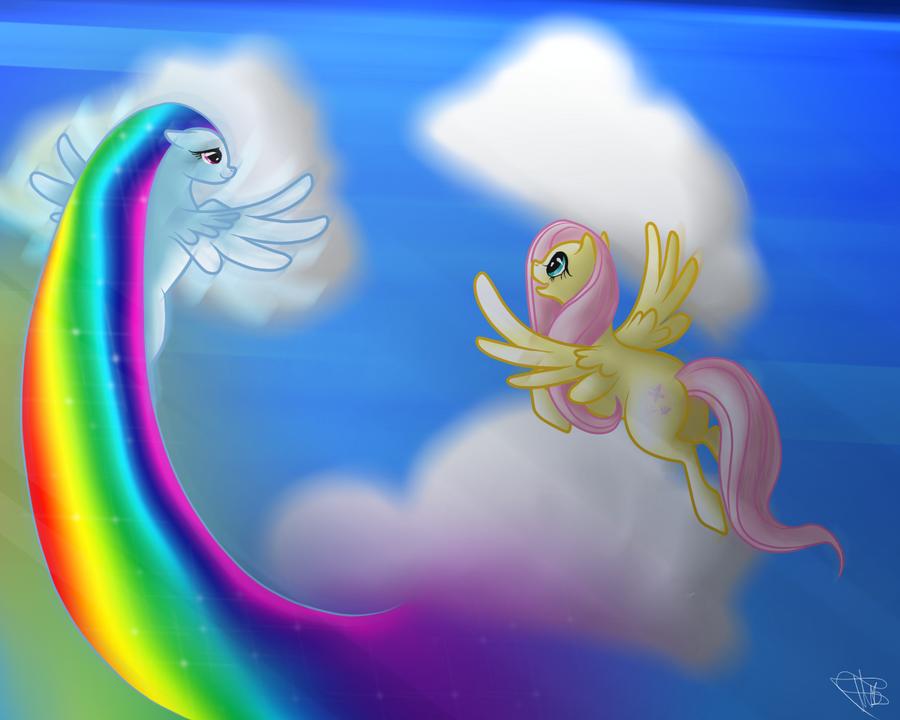 Rainbow dash flying animation
