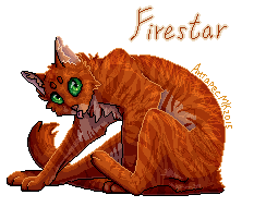 Firestar pixel art by AntharesMK