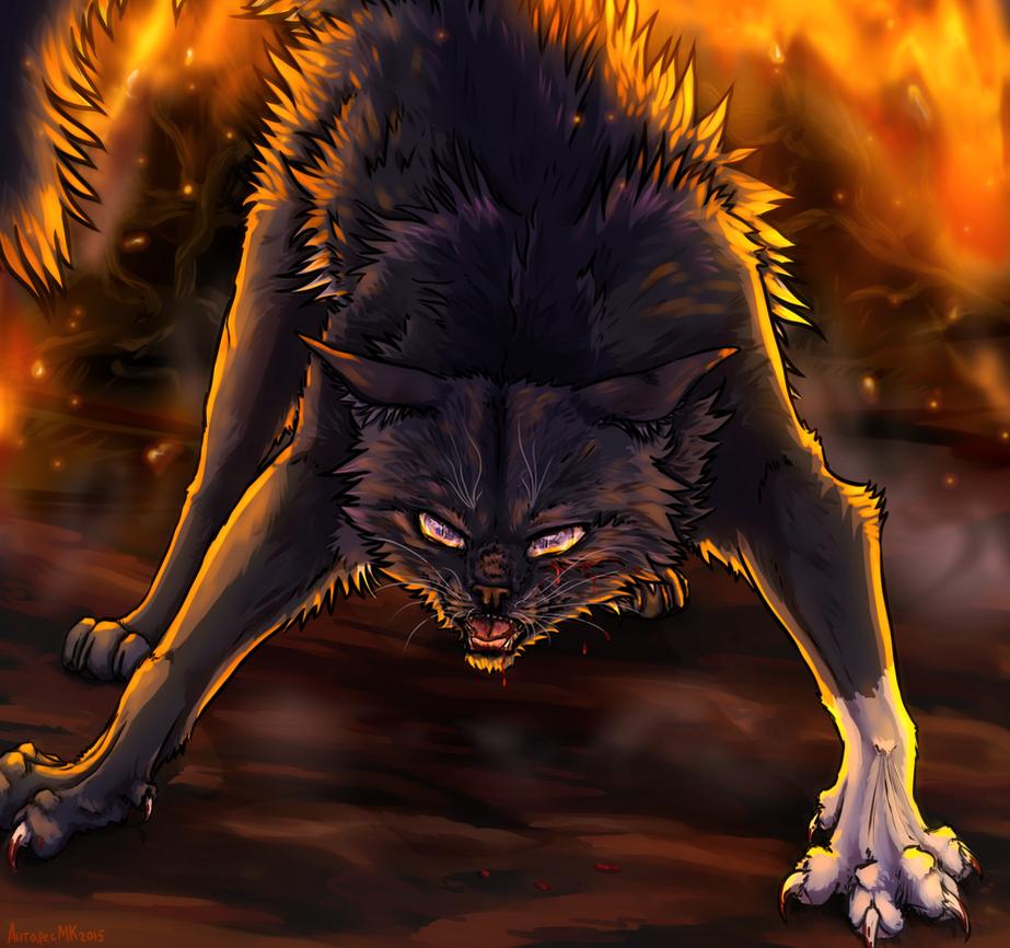 Last Fight: Warriors OC + speedpaint by AntharesMK