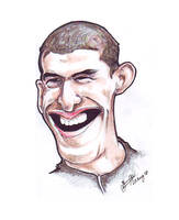 Michael Phelps - Caricature by libran005