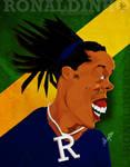 Ronaldinho - Caricature