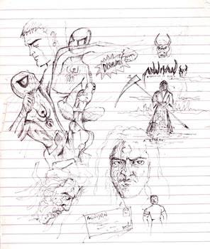 Jus Sketching around