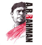 A.R.Rahman by libran005