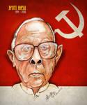 Jyoti Basu - Caricature