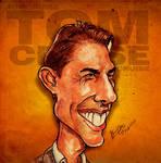 Tom Cruise - Caricature