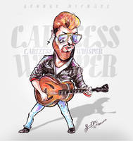 George Michael - Caricature by libran005