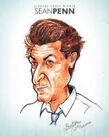 Sean Penn - Caricature by libran005