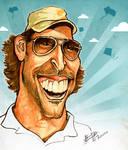 Hrithik Roshan - Caricature