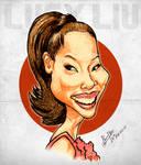 Lucy Liu - Caricature