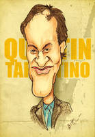 Quentin Tarantino - Caricature by libran005