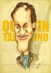 Quentin Tarantino - Caricature