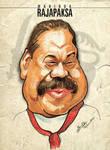 Mahinda Rajapaksa - Caricature