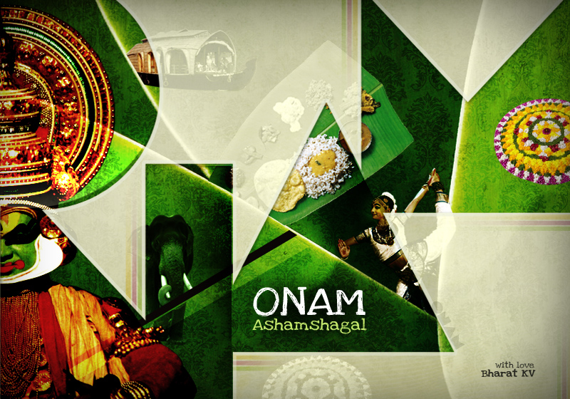 Happy Onam by libran005