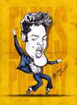 Elvis Presley - Caricature