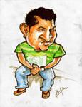 Caricature of my Friend Shinod