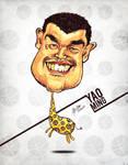 Yao Ming - Caricature