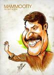 Mammootty - Caricature