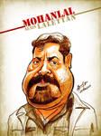 Mohanlal - Caricature