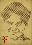 Roger Federer - Typo Portrait