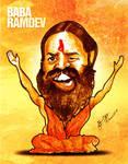 Baba Ramdev Caricature