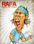 Rafael Nadal - Caricature