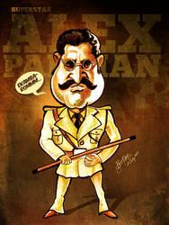 Rajnikanth - Caricature