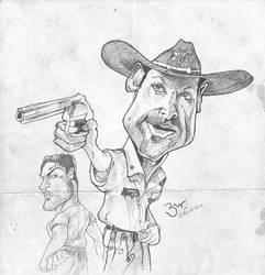 Walking Dead Sketch