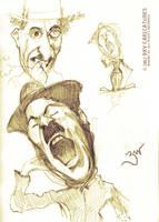 Chaplin Study by libran005