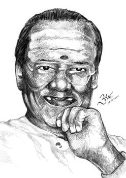 T. M. Soundararajan - Sketch