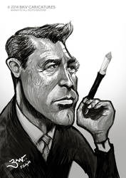Cary Grant Caricature