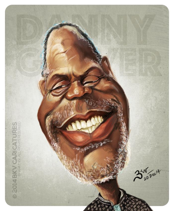 Danny Glover Caricature