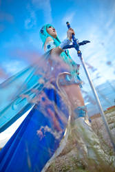 Magic Knight Rayearth: Umi by zerartul