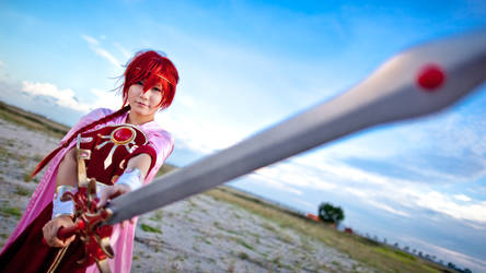 Magic Knight Rayearth: Hikaru by zerartul