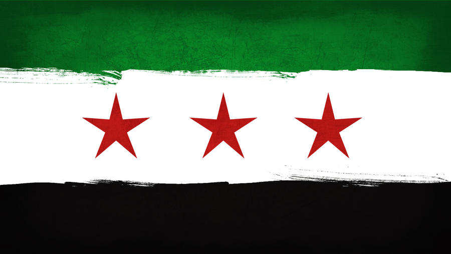 Old Syrian Flag by ZackMawal