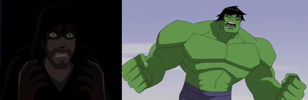 Bruce Banner/Hulk X Daughter!Reader by TashaHemlock on