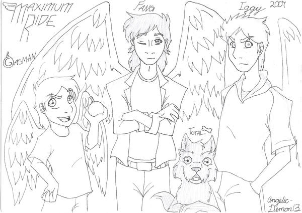 Maximum Ride Angel Coloring Pages Coloring Pages Maximum Ride Coloring Pages