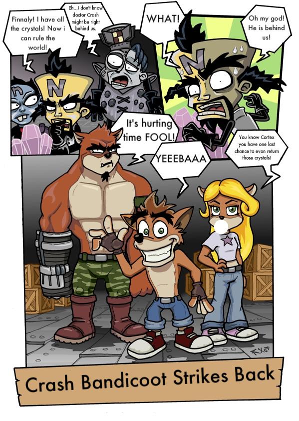 Only One Crash Comic by CrashBandicootFreak