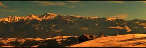Sirnea - Bucegi Panorama by christian-alexandru