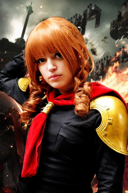 Cinque - Final Fantasy Type-0 by AkaneSuzumiya