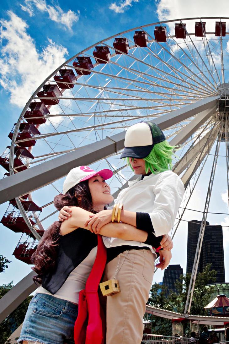 Let's ride the Ferris wheel by AkaneSuzumiya