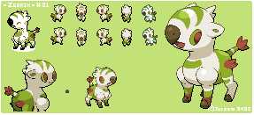 Grass Starter: Zebrik by A-Pinnari