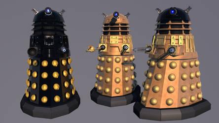 DalekX by BillBailey