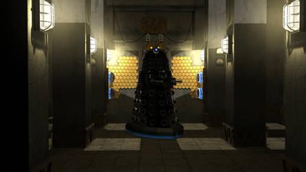 Dalek Sec in Manhattan by BillBailey