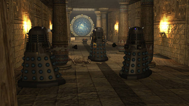 Eygtian Daleks0034 by BillBailey