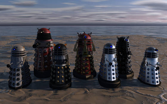 Evolution of the Daleks updated. by BillBailey