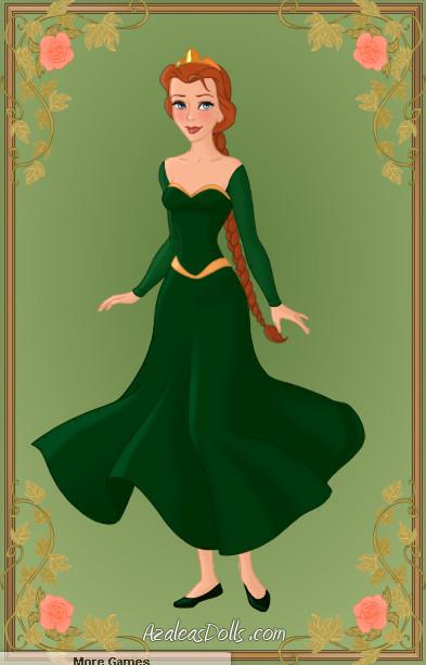 Princess Fiona by zozelini on DeviantArt