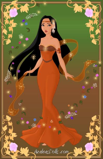 Designer Doll Pocahontas by zozelini