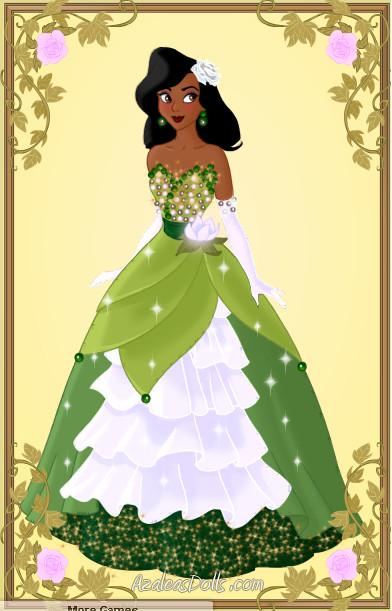 Designer Doll Tiana by zozelini