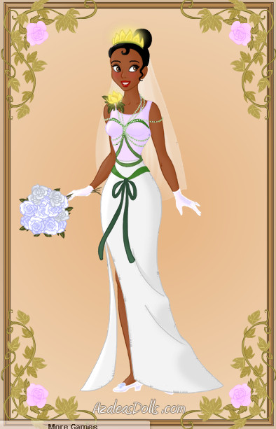 Tiana Wedding Dress by zozelini